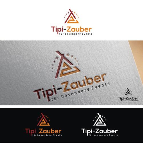 Erstelle ein einprägsames Logo für unseren Tipi-Eventzeltverleih
