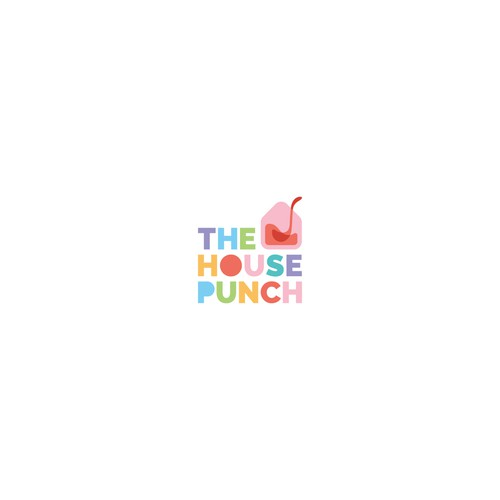 The House Punch Logo for Interior designer
