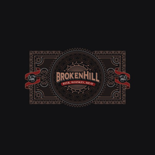 Classic and Luxury Logo for BrokenHill