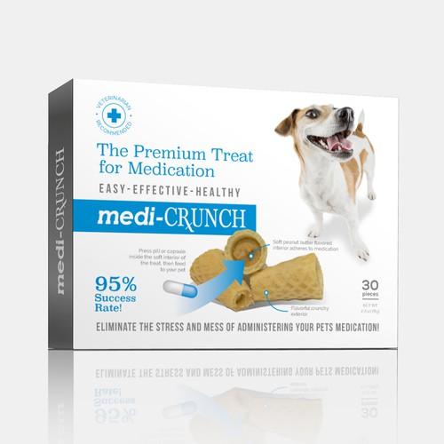 Medi-crunch dog treat