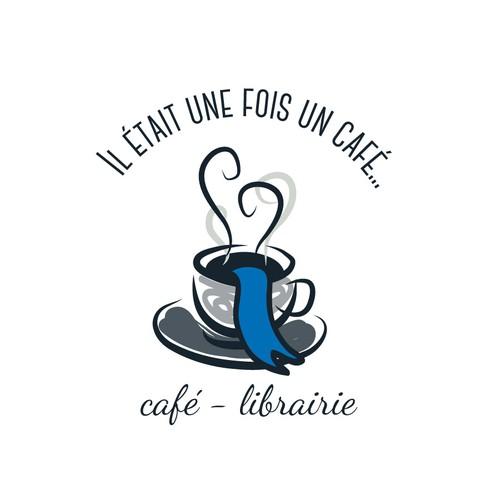 Créer un logo et des cartes de visite pour un café-librairie