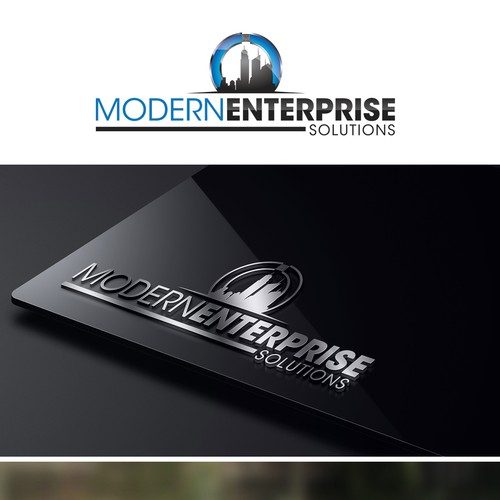 Create a winning design logo for Modern Enterprise Solutions