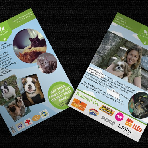 Pawfect Day Flyer