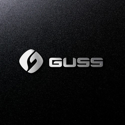 Abstract logo for farm vehicle GUSS