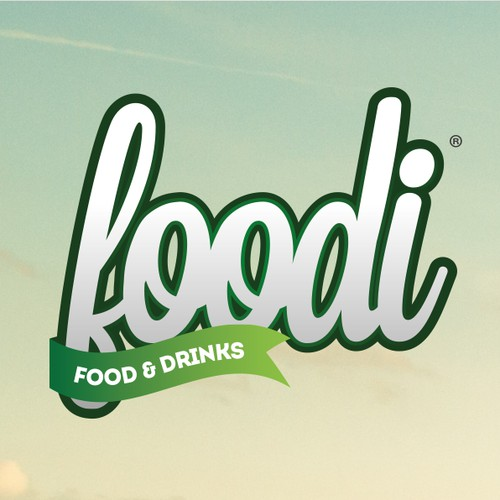 Create a cute logo for cool food startup