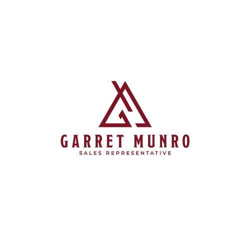 Clear Logo concept for Garret Munro