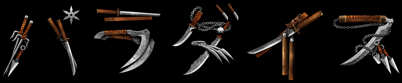 Ninja/Samurai Paradise Font