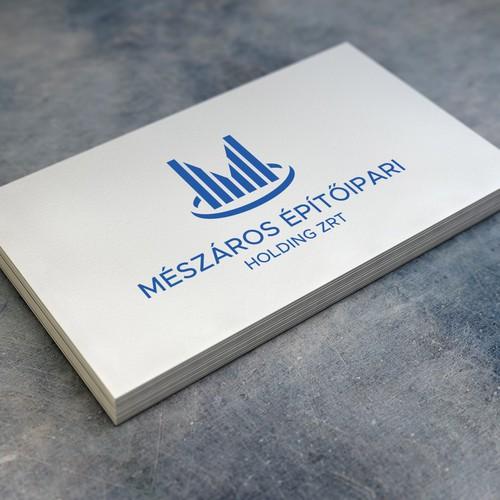 Logo for a constructing company