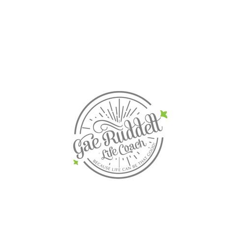 Logo design concept for Gar Ruddell Life coach