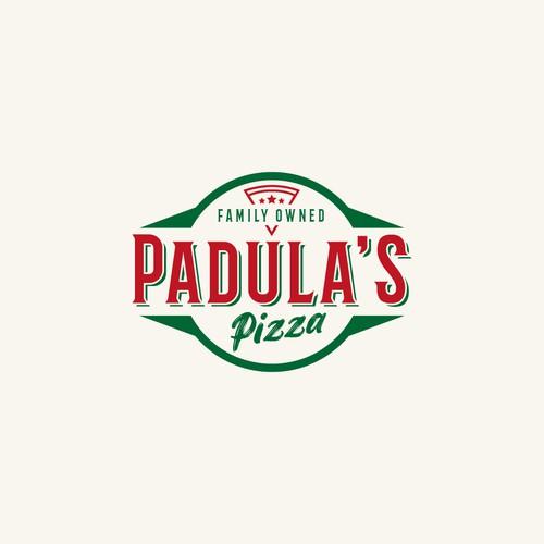 Logo concept for italian pizza