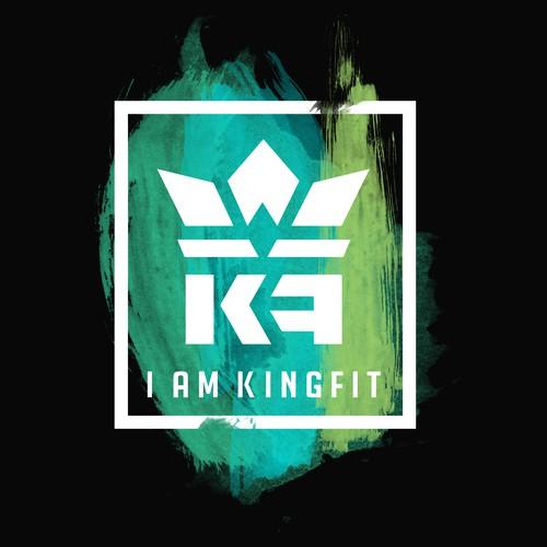 T shirt design concept fo Kingfit