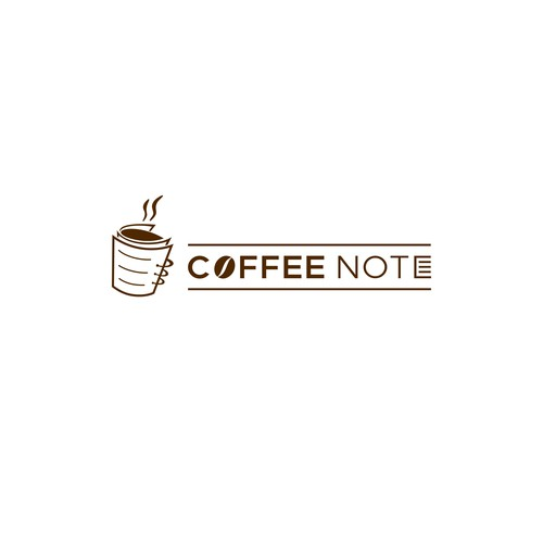 Logo Design for Coffee Note