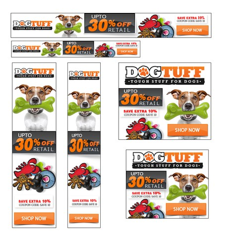 Help a Dog Toy company with a Banner Ad!