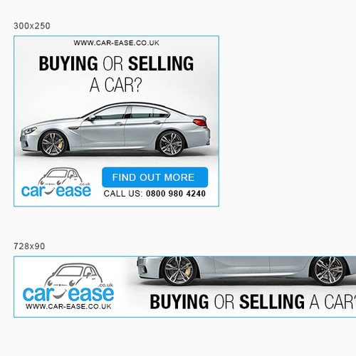 car-ease.co.uk - banner ads