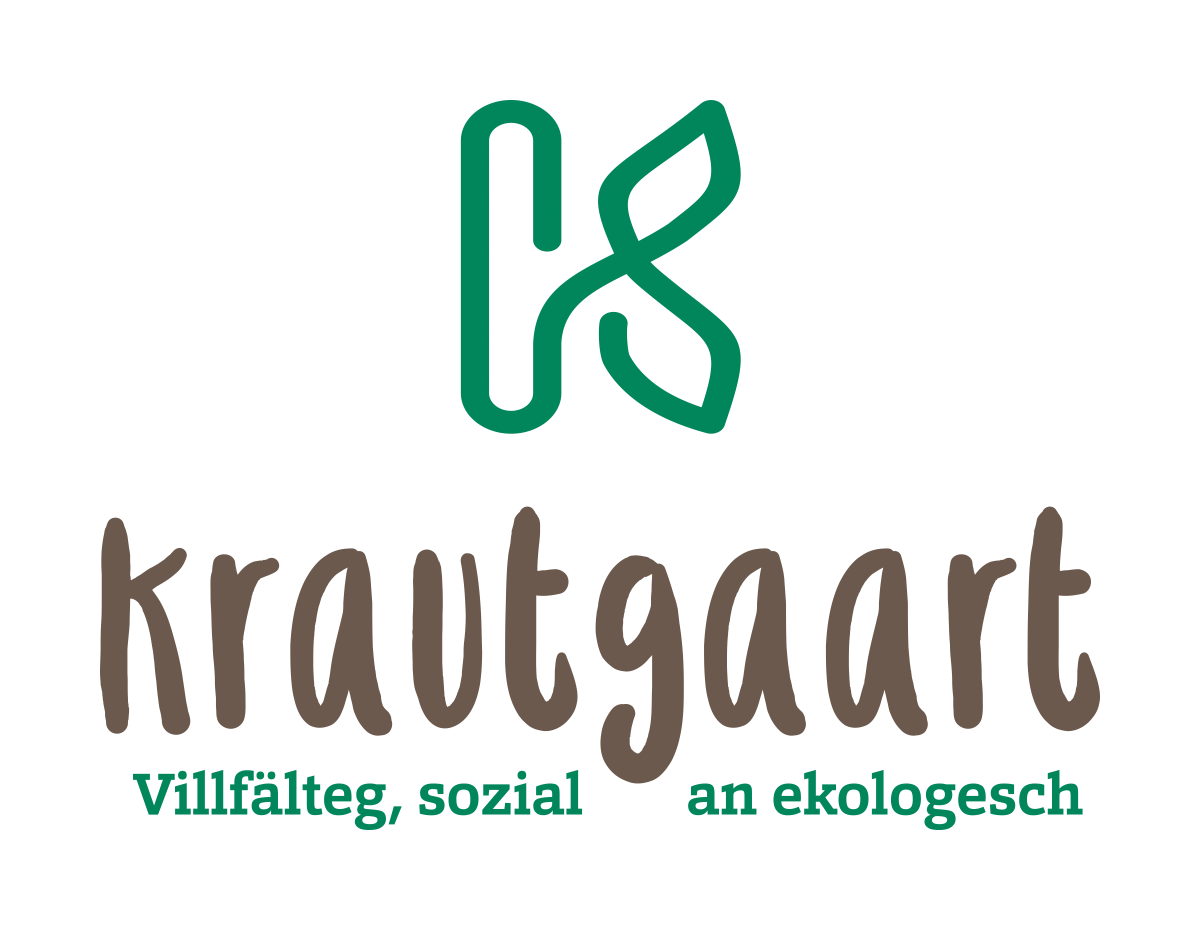 Design an organic logo for the coolest market garden CSA in Luxembourg.