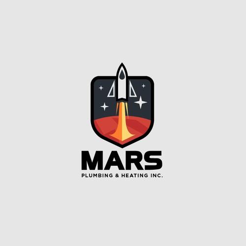Bold futuristic logo