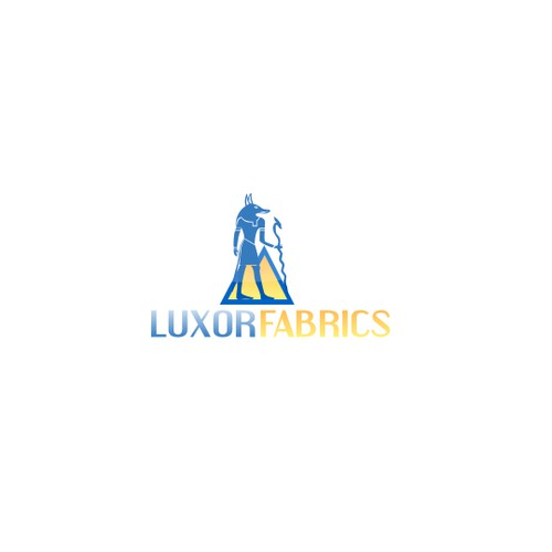 Help LUXOR FABRICS with a new Logo Design