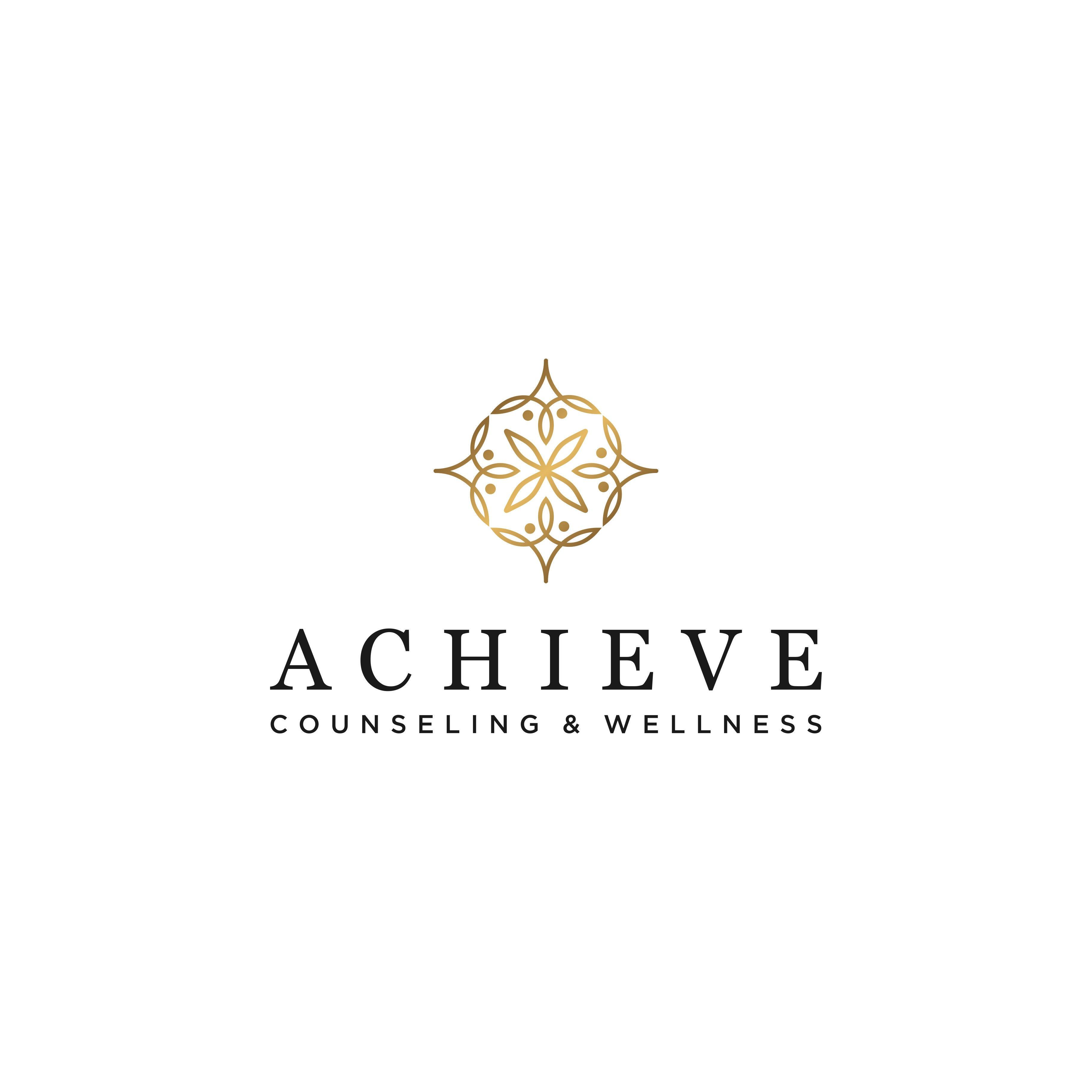 Create a contemporary, stylish and timeless logo for Achieve Counseling & Wellness
