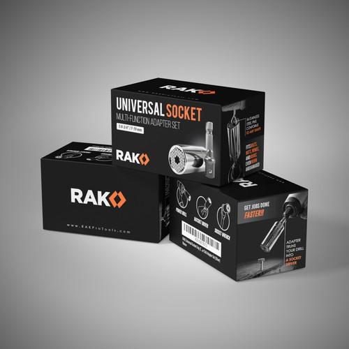 Packaging design for RAK