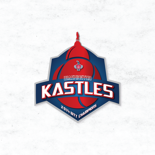 Washington Kastles Tennis 2014 Championship Logo