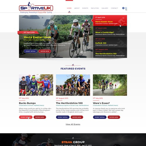 Cycling Event Organising company Home Page