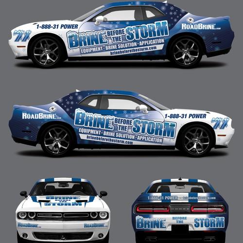 Dodge Challenger_RoadBrine.com_car wrap