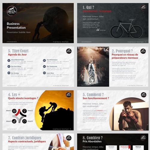Typography Enhancing Sportive Presentation