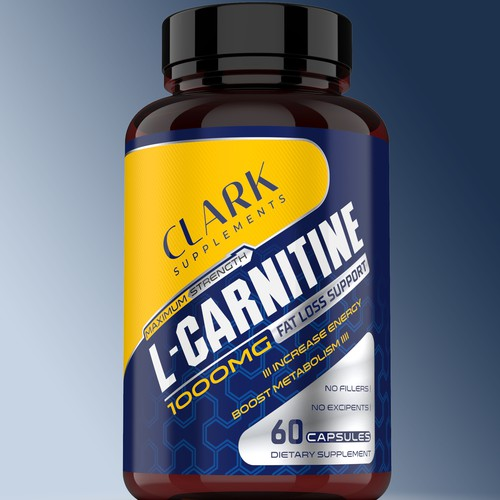 CLARK SUPPLEMENTS L-CARNITINE