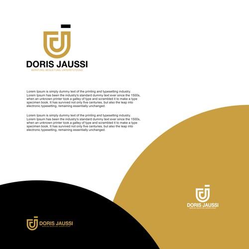 DJ Letter Logo