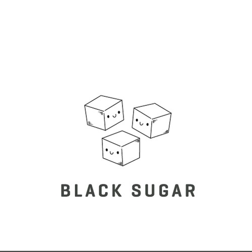 logo design for black sugar