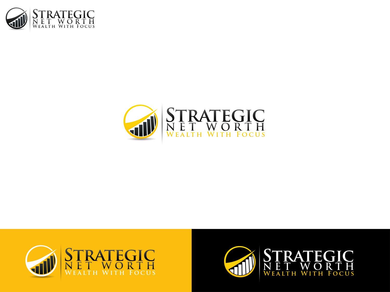 """Strategic Net Worth"" needs a new logo"
