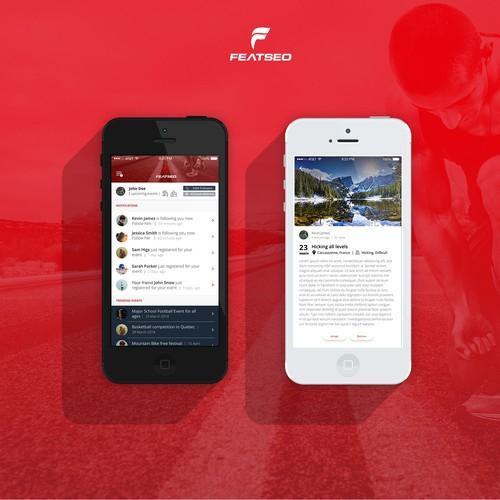 Sports meeting app