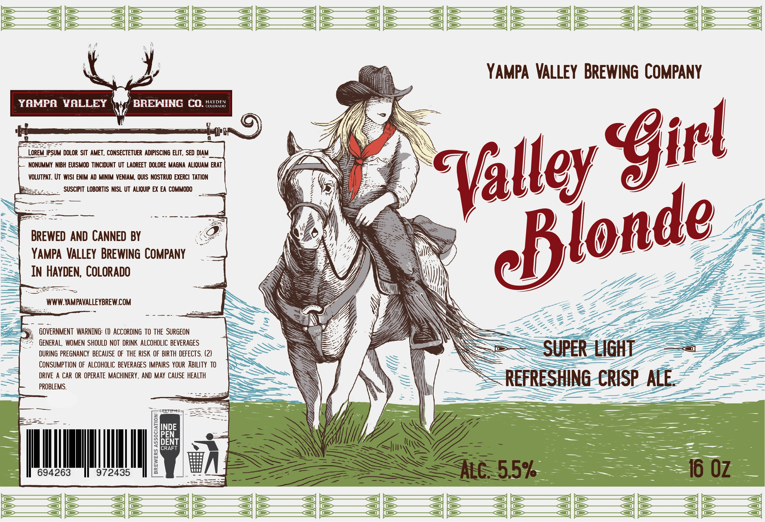 Mountain Town Brewery needs 1st in a series of Can Art Designs