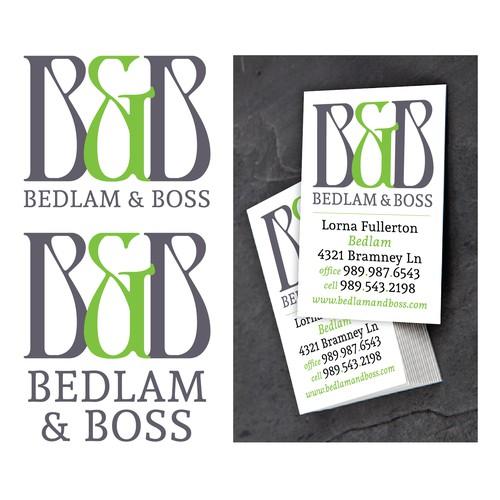 Bedlam & Boss Logo Design