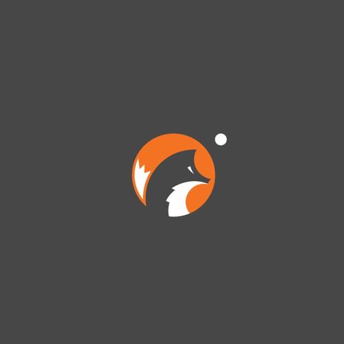 Amazing fox logo