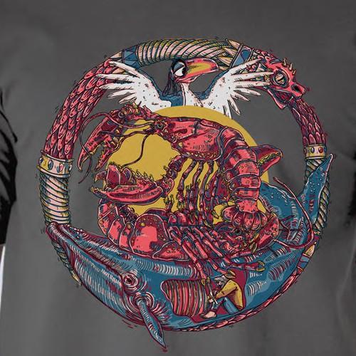 Jordan Peterson themed t-shirt