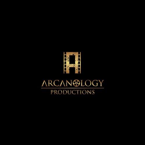Logo for a production company