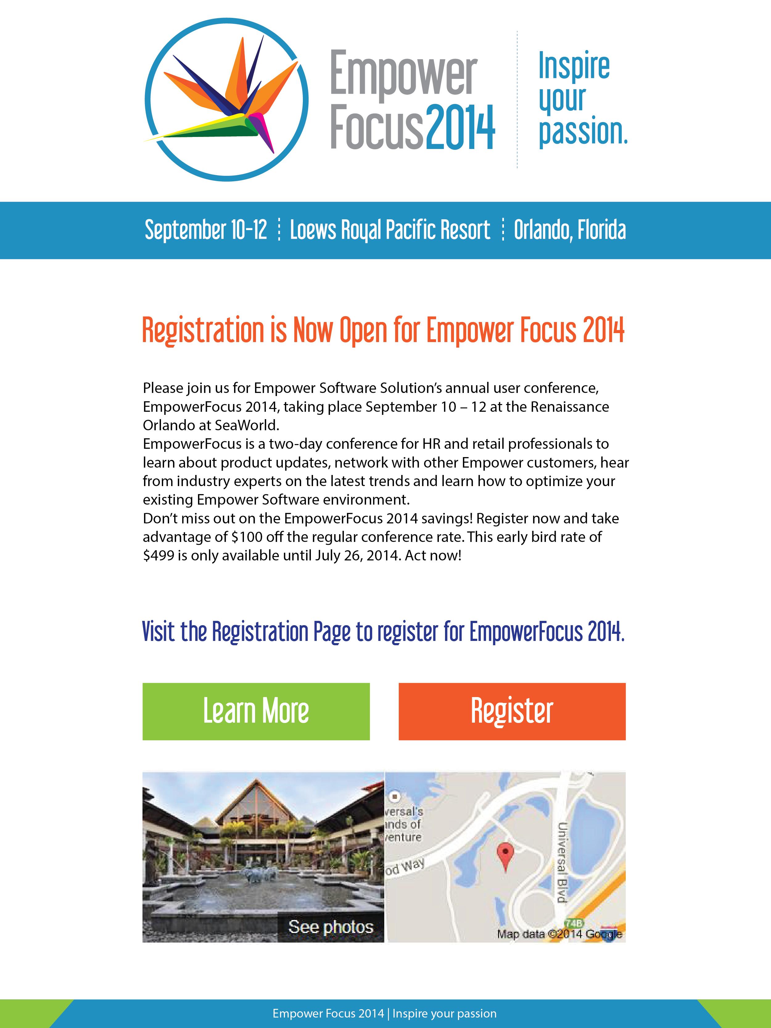 EmpowerFocus 2014 Theme Materials