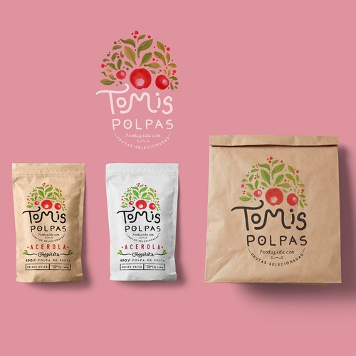 """Tomis Polpas"" Brand Identity"