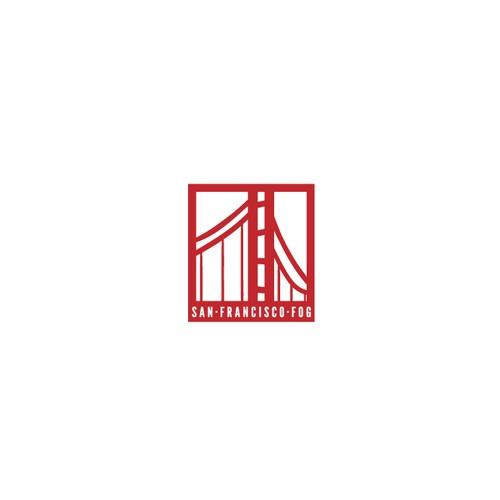 San Francisco cannabis tours agency logo concept