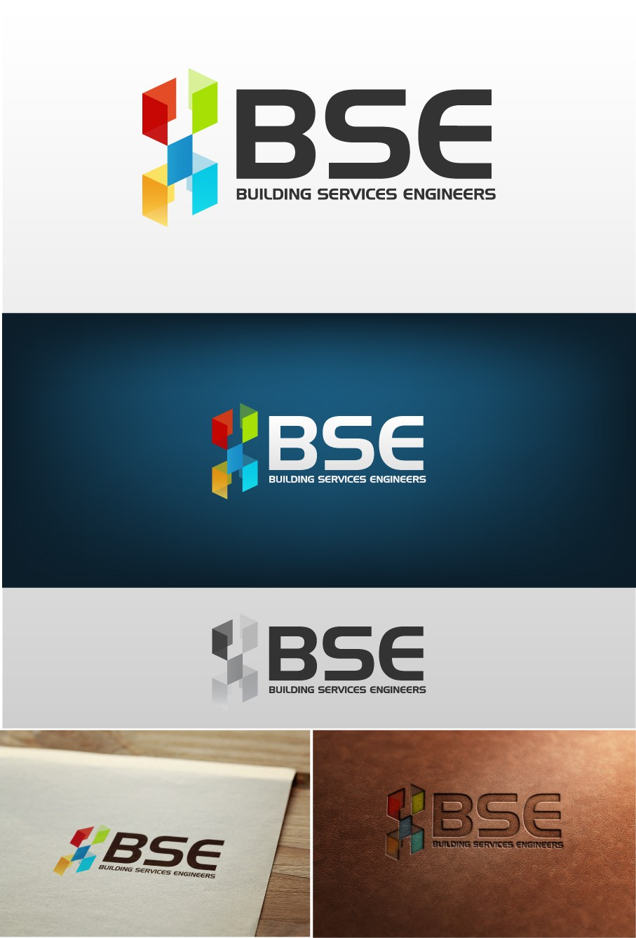 Help BSE (or bse) with a new logo and business card