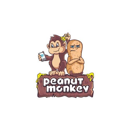 Peanut Monkey Design
