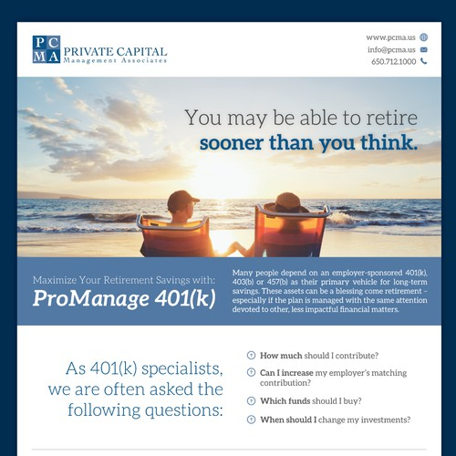 Private Capital FLyer Design