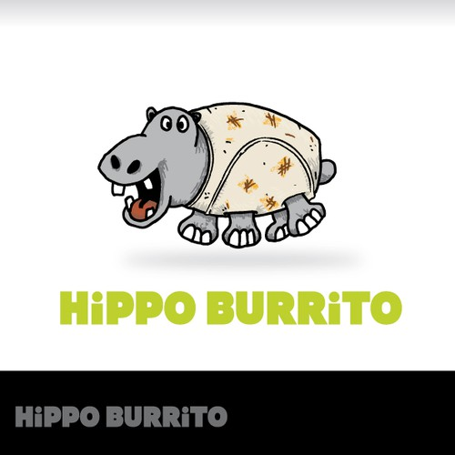 Silly design for burritos chain