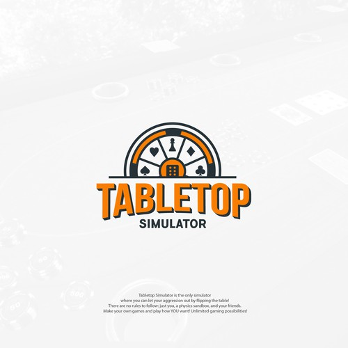 Card Games Logo Concept for TableTop Simulator