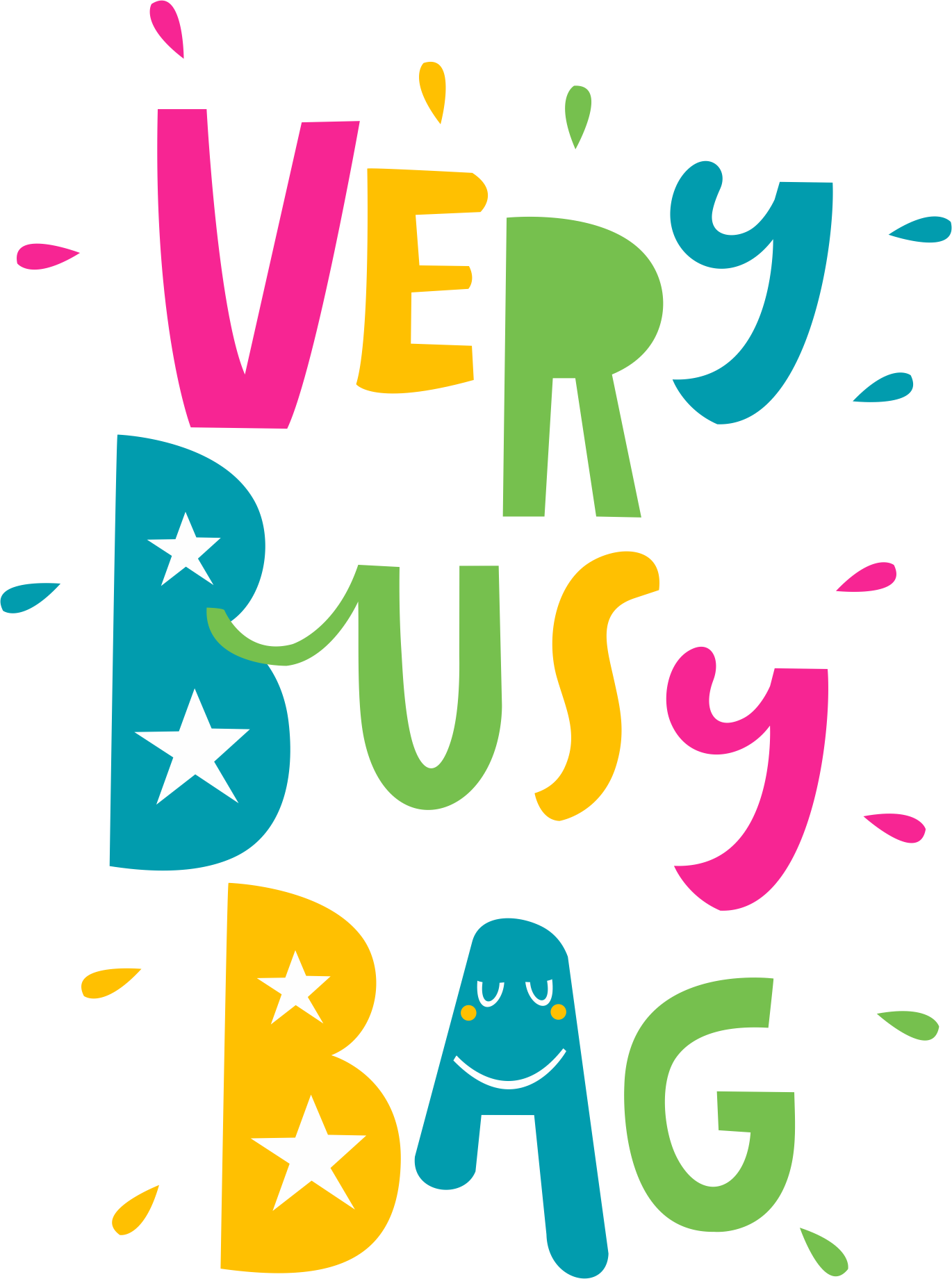 Design a playful logo for Very Busy Bag