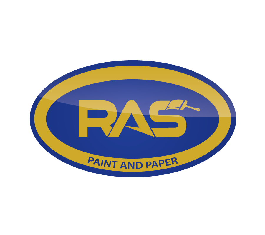 Create the next logo for RAS Paint & Paper