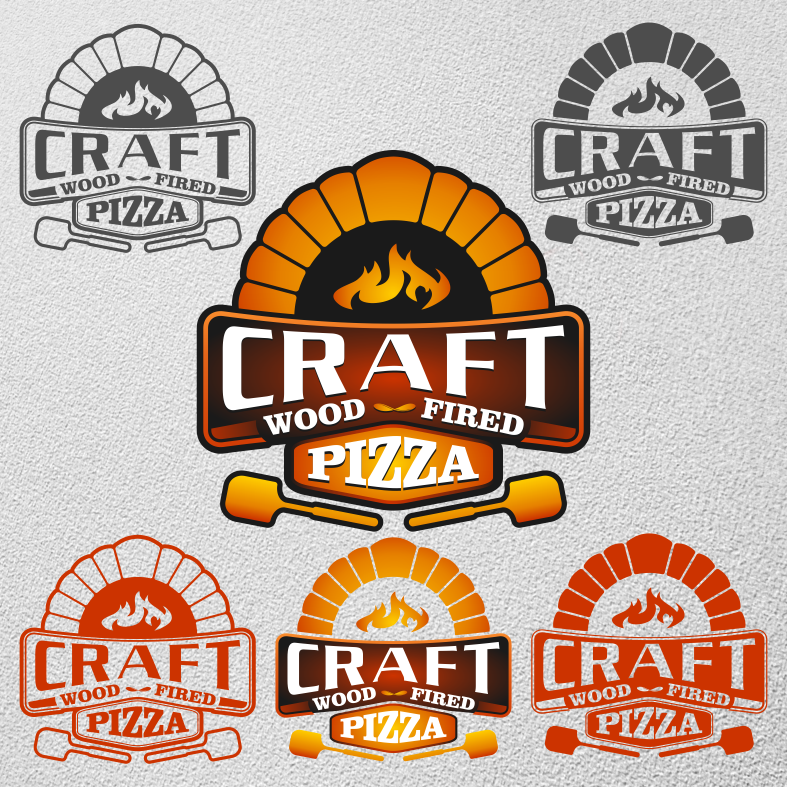 create a logo for a mobile wood-fired  pizza oven/trailer