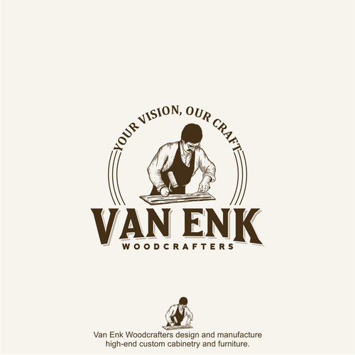 Logo for Van Enk