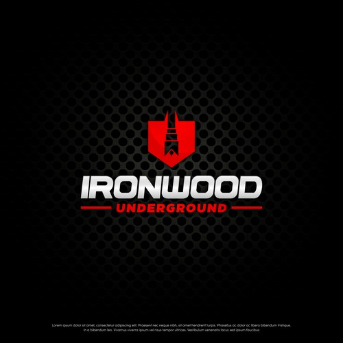 Bold Logo for Ironwood Underground